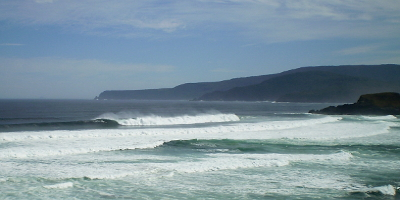 surfing the great southern ocean