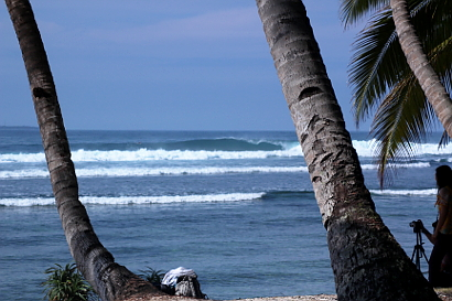 Surf break Banana Island South Sumatra