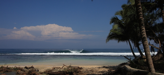 Honey Smacks surf break South Sumatra