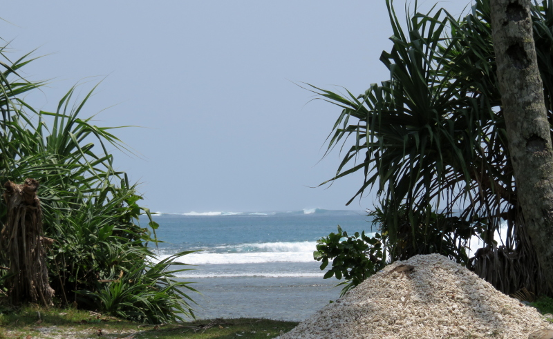 Exploring the surf in Sumatra