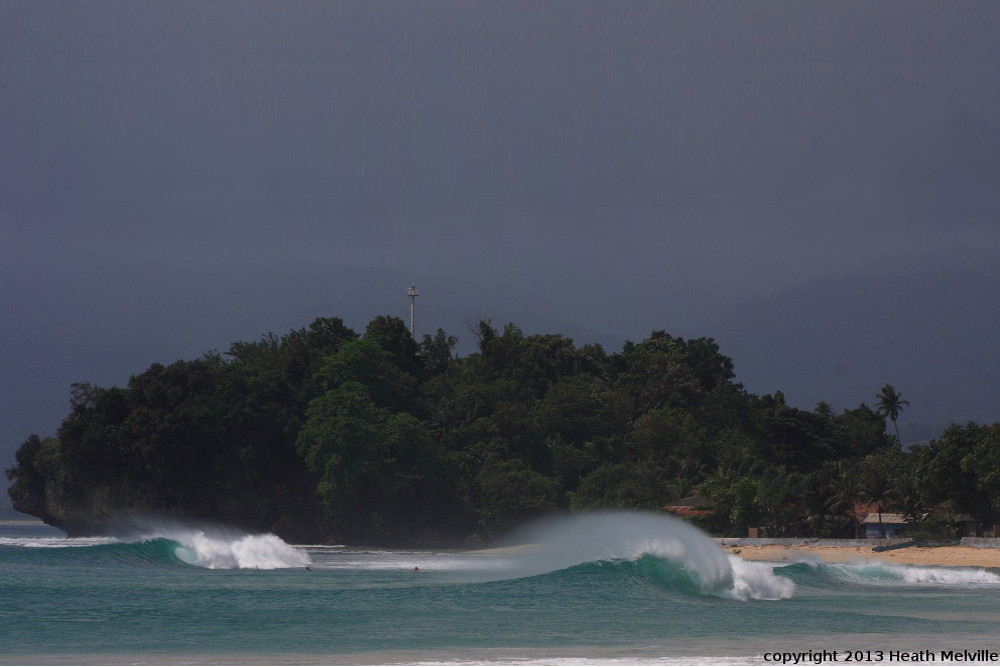 Krui Indonesia  city photo : South Sumatra surf break Krui Right Indonesia