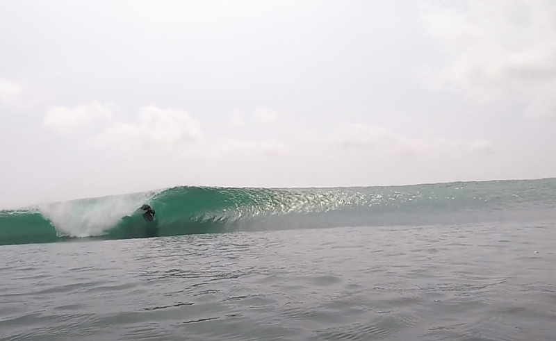 Amys Left Surf Braek South Sumatra