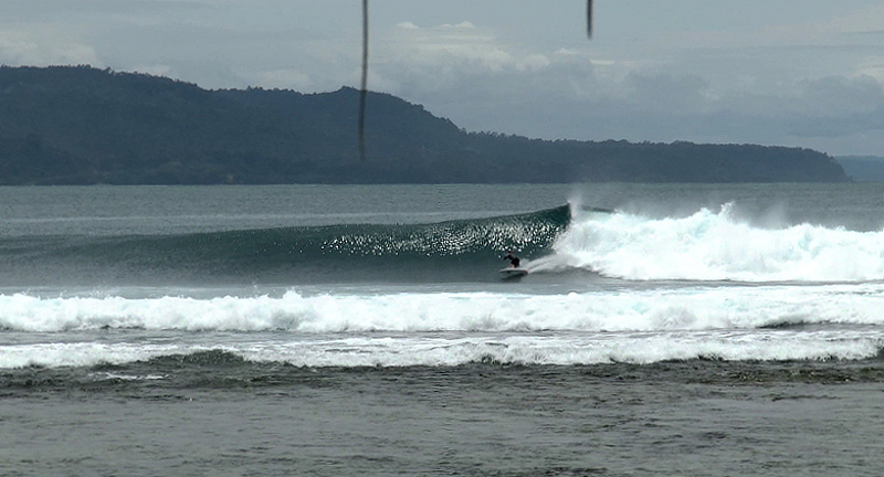 Jennys Point surf break South Sumatra