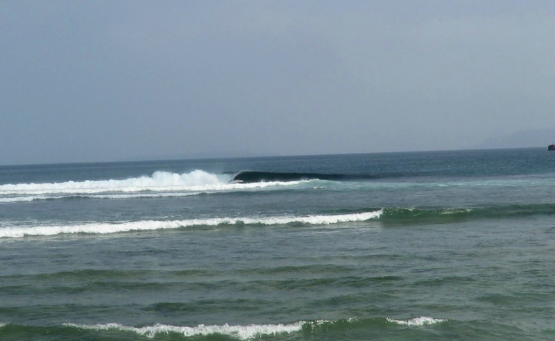 Krui Bowl Surf Braek South Sumatra
