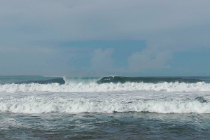 Mandiri Beach surf break Sumatra