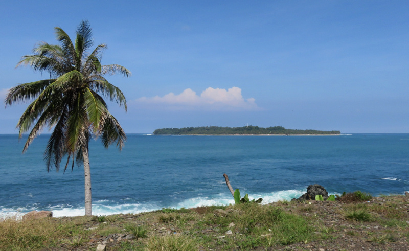 Pulau Pisang Banana Island South Sumatra