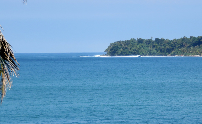 South pulau Pisang Island Sumatra