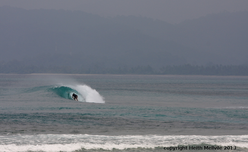 The Peak surf break