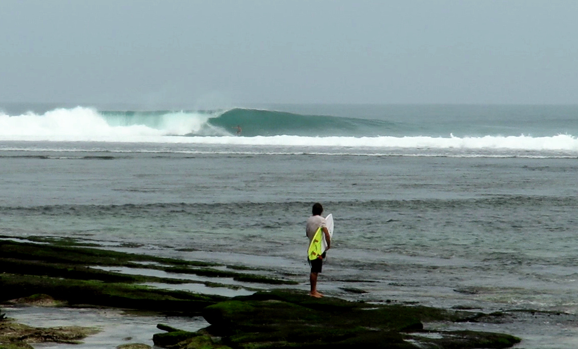 Ujung Bocur surf break South Sumatra