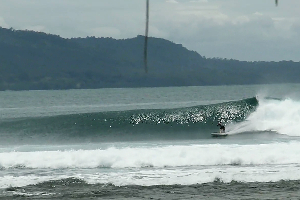 Jennys point surf break Sumatra