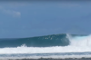 Jimmys Right surf break Sumatra